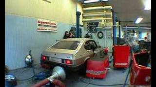 Ford Capri with Holset turbocharger @ the Dyno