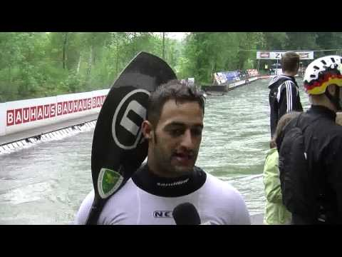 Sportscene - Interview 2012 European Champion K1 - Daniele Molmenti