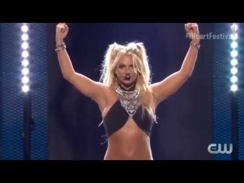 Britney Spears - Work B**ch (Live At IHeartRadio Music Festival 2016) HD