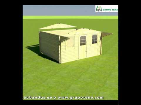 Montaje de una caseta de jardin Grupotene