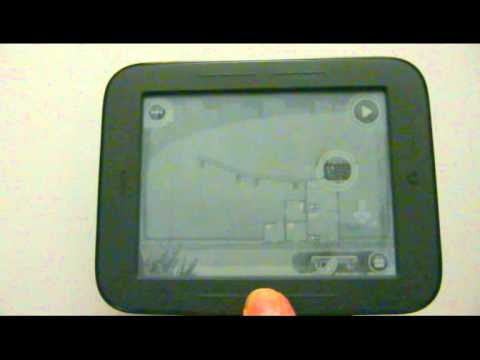 Nook simple touch fast display mode