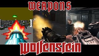 All Weapons of Wolfenstein (1992 - 2017)