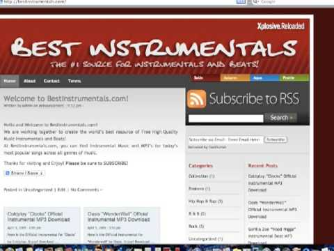 How to Download Free instrumental Music Beats and Songs