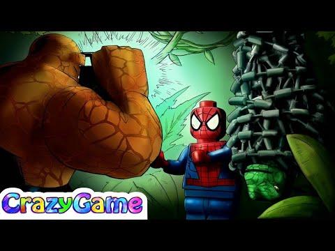 #LEGO Marvel Super Heroes 100% Guide #24 Reptilian Ruckus (Red Brick, Stan Lee, etc)