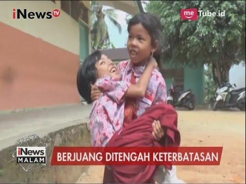Kisah Haru, Seorang Adik Rela Gendong Kakaknya yang Lumpuh Demi Sekolah - iNews Malam 29/03