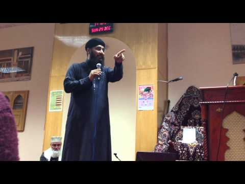 Dare Nabi Par-dr Hafiz Nisar Ahmed Marfani-usmani Mosque Leicester 2013 video