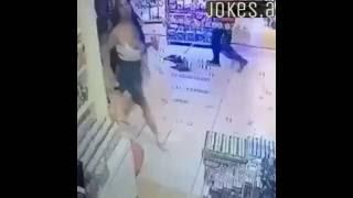 فضيحة سقوط (المتحول هيفا ماجيك) في المول
