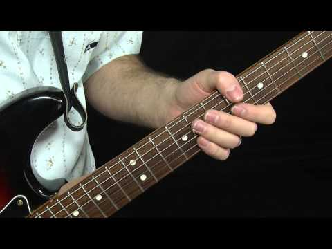4 Fret Bends - Albert King Style