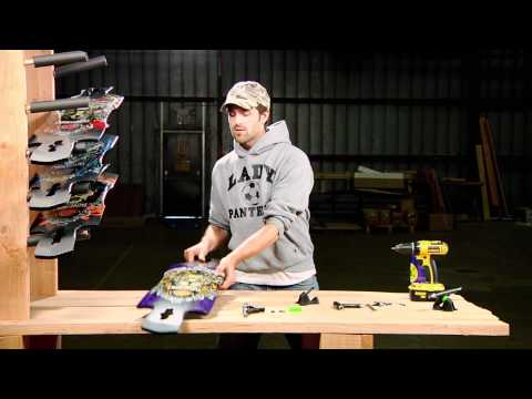 Longboard How to: Build / Assemble a Drop Through Deck