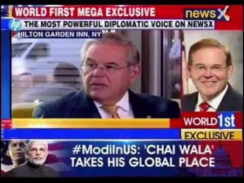 NewsX Exclusive Interview of US Senator Robert Menendez with Rahul Shivshankar