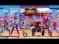 Street Fighter V AE Chun Li/Sakura/Karin vs Necalli/R. Mika/Falke PC Mod