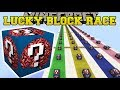 Lagu Minecraft: INSANE BRAIN LUCKY BLOCK RACE - Lucky Block Mod - Modded Mini-Game