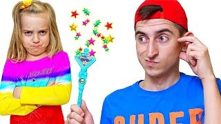 Pretend play with Magic wand for Kids