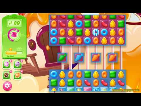 Candy Crush Jelly Saga Level 420 (3 star. No boosters)