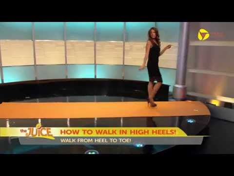 Kiran Chetry -  How To Walk in High Heels