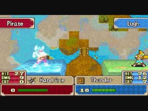 Fire Emblem Fuuin no Tsurugi: Chapter 9 The Misty Isles