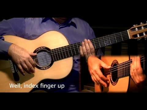 Flamenco Guitar Tangos lesson by Jose Manuel Montoya-Clase de Tangos por Jose Manuel Montoya