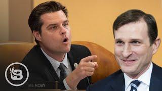 Rep. Gaetz Exposes Impeachment Investigator as Partisan Democrat