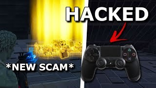 Raging Scammer Hacked My Controller! Scammer Gets Scammed On Fortnite Save The World *Must Watch*