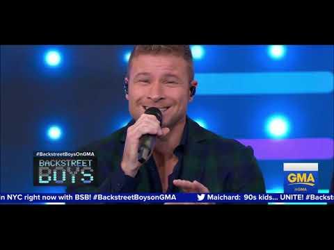 Backstreet Boys  Good Morning America 2019 No Place First Debut