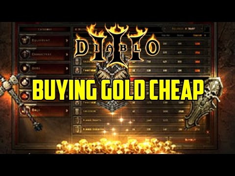 Buying Gold Cheap In Diablo 3
