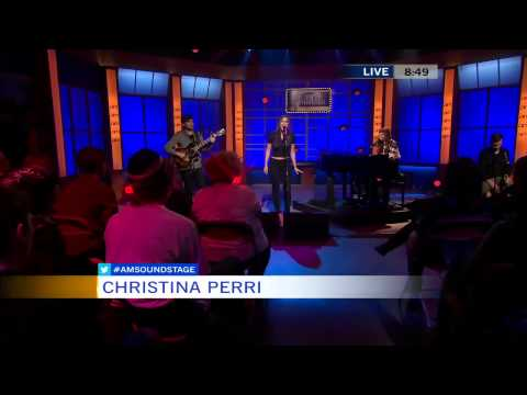 Human, Be My Forever-christina Perri( Perform On Canada National Morning News) video