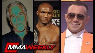 Colby Covington on Jeffrey Epstein, Clinton Hitlist and Kamaru Usman (UFC 245)