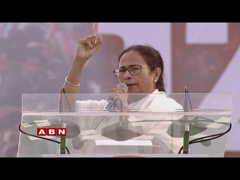 Mamata Banerjee's anti-BJP rally | United opposition rally in Kolkata | Chandrababu | ABN LIVE