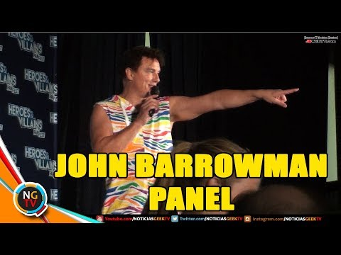 John Barrowman - Dark Archer - Panel Heroes and Villains 2017