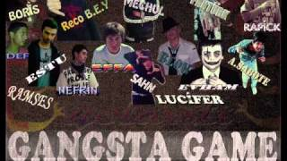 MP RECORDS - Gangsta Game ( 15 Rapper
