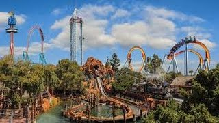 Top 10 Roller Coaster at Knott