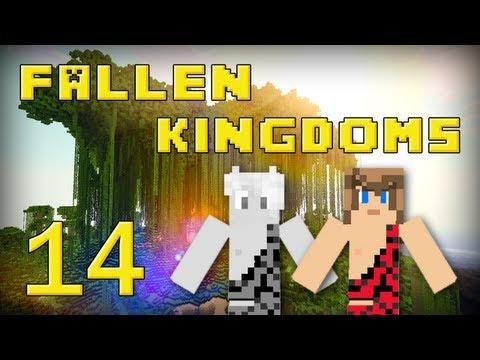 fallen kingdoms 2 : frigiel, zelvac & léozangdar | jour 14 - minecraft