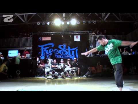 Freestyle Session Brasil 2012 - Diademaica Vs Tsunami 1/2