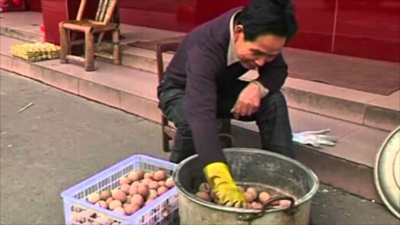 Egg Boiled in Urine Urine Eggs a Delicacy in China
