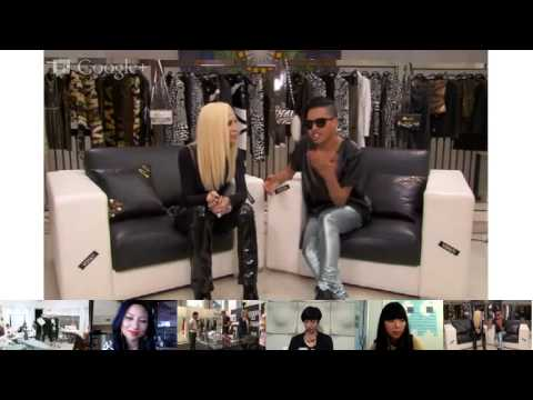 Hangout Versus Versace with Donatella Versace