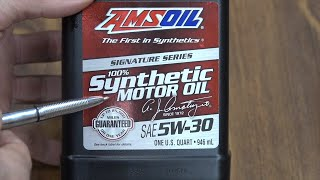Will Amsoil get beat by Kendall?  Let's find out!