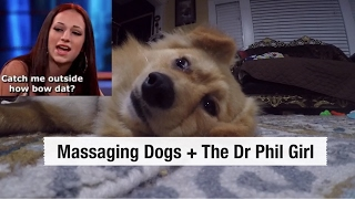 Massaging Dogs + The Dr. Phil Girl | VLOG | Kylie Gore