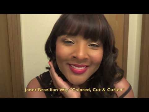 Janet Collection Brazilian Natural 100% Virgin Remy Wig