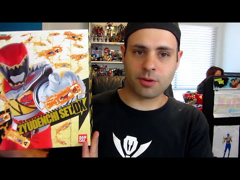 Power Rangers Dino Charge DX Zyudenchi Set! (Kyoryuger)