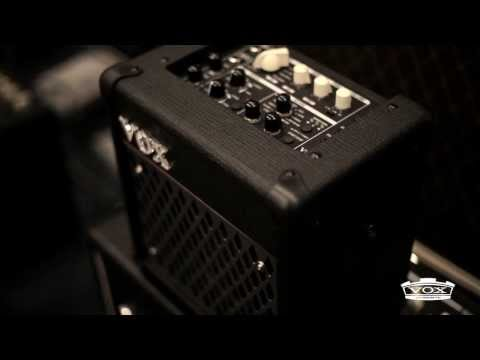 In The Studio: Freddy DeMarco and VOX Mini5 Rhythm Modeling Guitar Amplifier