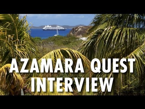 Azamara Quest Interview with Mark Leppert ~ Azamara Club Cruises ~ Popular Cruising Podcast Ep. 2