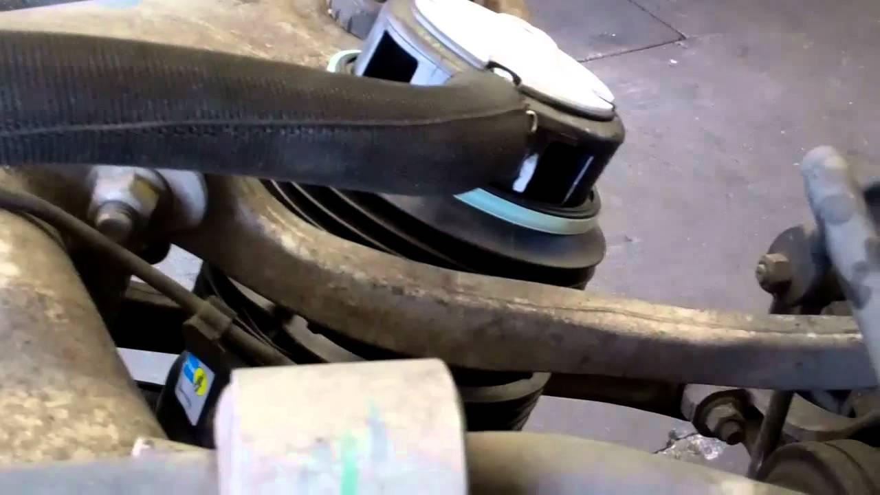 2003 mercedes e500 rear suspension air springs