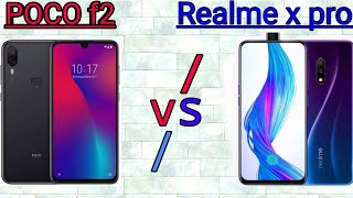 Poco F2 VS Realme X pro || comparisson,features, specification, reviews || which is better ?