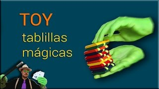 Juguete: Tablillas Magicas    Jacob´s ladder Toy