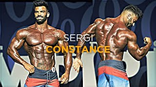 Sergi Constance Posing At Mr Olympia 2017 | HD