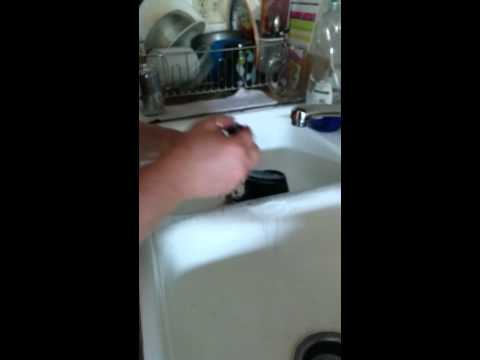 Porcelain sink chip repair