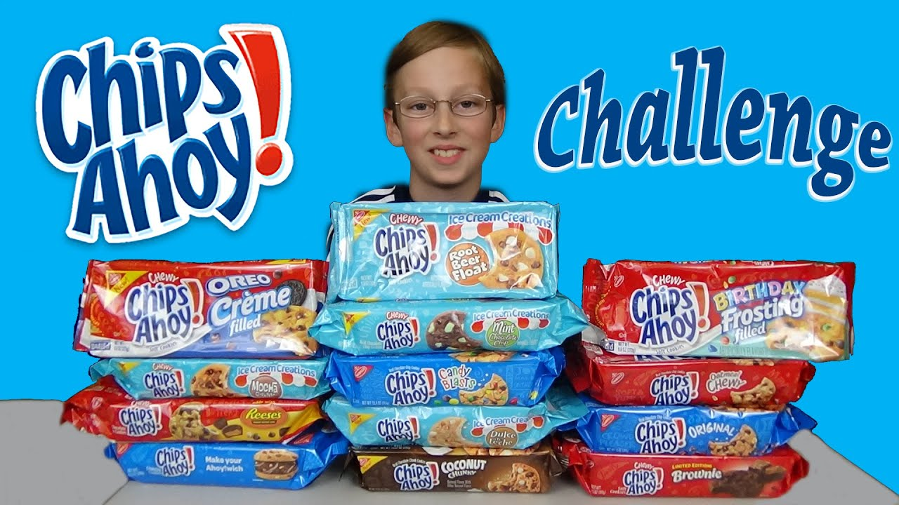 Chips Ahoy Cookies uk Chips Ahoy Cookie Challenge
