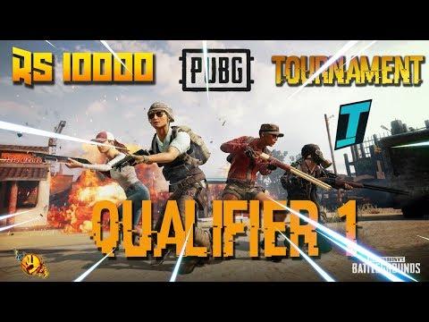 10000 RS PUBG tournament tamil ! Qualifier 1  match 1 ! TESL TJ ft Raze