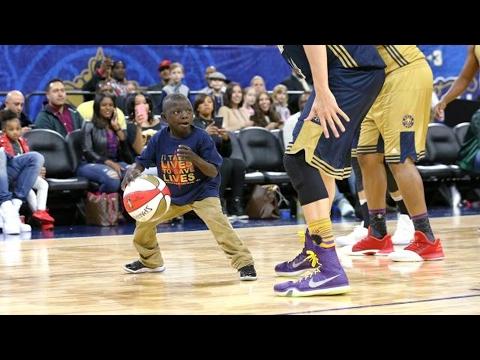 NBA All-Star Celebrity Game 2017! NBA Impersonator, Saints Superfan, Baron Davis!
