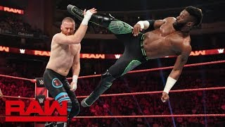 Cedric Alexander vs. Sami Zayn – King of the Ring First-Round Match: Raw, Aug. 19, 2019